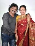 Porträt von indischen Paaren Stockbild
