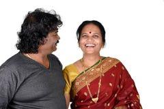 Porträt von indischen Paaren Lizenzfreies Stockbild