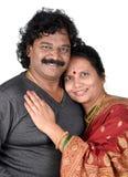 Porträt von indischen Paaren Lizenzfreie Stockfotos