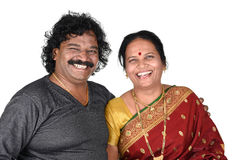 Porträt von indischen Paaren Stockfotos
