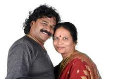 Porträt von indischen Paaren Lizenzfreies Stockfoto