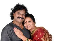 Porträt von indischen Paaren Stockfoto