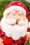 Porträt von keramischen Santa Claus Lizenzfreie Stockfotos
