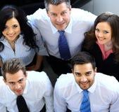 Porträt von lächelnden Geschäftsleuten Lizenzfreies Stockfoto