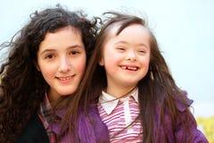 Porträt von Mädchen Lizenzfreies Stockfoto