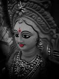 Porträt von maa saraswati lizenzfreie stockfotos