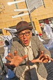 Porträt von Maynard Flip Flap Stockfotografie