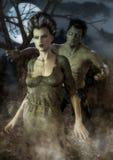 Porträt von Monstern eines Klassikerpaares Lizenzfreie Stockfotos