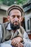 Porträt von pakistanischen Leuten stockbilder