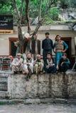 Porträt von pakistanischen Leuten lizenzfreies stockfoto