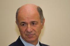 Porträtcorrado-passera Manager diplomatisch lizenzfreies stockfoto