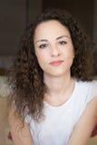 Porträtfrau 31 Jahre alt Stockfotos