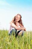 Frühlings-Mädchen Lizenzfreies Stockfoto