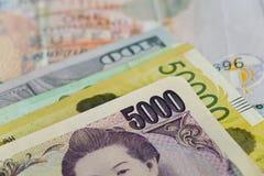 Porträts auf Banknoten Lizenzfreie Stockfotografie