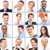 Porträts von Geschäftsleuten Lizenzfreie Stockfotografie