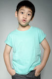 Portrade Of asian cute boy Stock Photography