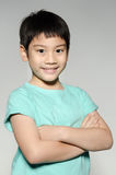Portrade Of asian cute boy Royalty Free Stock Images