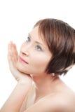 Portrai of sensual woman Royalty Free Stock Photos