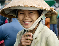 Portraiit of a smiling Vietnamese woman Royalty Free Stock Photo