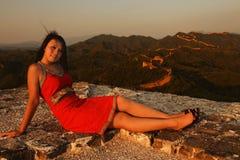 Portrail van een meisje Royalty-vrije Stock Foto