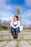 Portrain of a girl Stock Photos