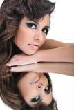 Portrair des schönen Mädchens Lizenzfreie Stockbilder