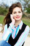 Portrair of teen lovely girl Royalty Free Stock Photography