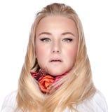 Portrait élégant de femme Photos stock