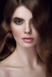 Portrait étonnant de femmes Photo stock
