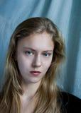 Portrait. A portrait of young woman stock images