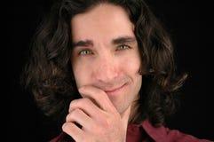 Portrait-2 des Mannes Stockfotografie