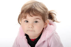 Portrait of a 2 year old girl Royalty Free Stock Images