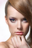 Portrait. Of beautiful young woman Royalty Free Stock Images