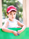 Portrait of a  3-4 years boy Royalty Free Stock Image