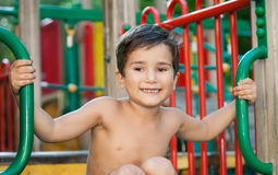 Portrait of a  3-4 years boy Royalty Free Stock Photos