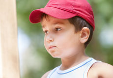 Portrait of a 3-4 years boy Stock Image
