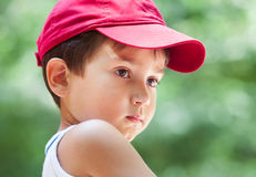 Portrait of a 3-4 years boy Royalty Free Stock Photography