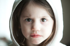Portrait of a 3 year old. Child Royalty Free Stock Images
