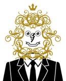 Portrait. Fanny Portrait Of Happy Man Royalty Free Stock Image