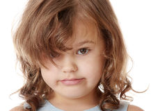 Portrait of a 5 year old girl Stock Photography