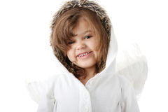 Portrait of a 5 year old girl Royalty Free Stock Photos