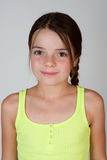 Portrait of a 9 Year Old Girl Stock Photography