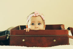 Portrait of aborable baby Royalty Free Stock Photos