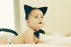 Portrait of aborable baby Stock Image