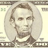 Portrait of Abraham Lincoln royalty free stock photos