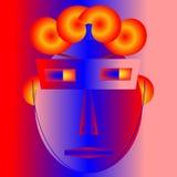 Portrait abstrait #40 illustration de vecteur