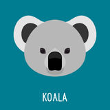 Portrait abstrait de koala Photo stock