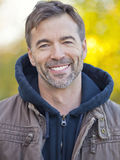 Portrait Of A Active Man Smiling At The Camera Royalty Free Stock Image
