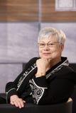 Portrait of active senior woman Stock Photo
