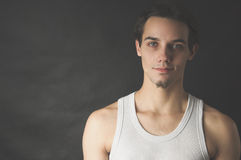 Portrait of active young man Royalty Free Stock Photos